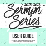 2015-2016 CCiL Sermon Series User Guide -Front cover